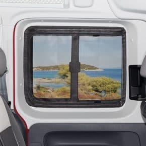 Brandrup Moskitonetz für den VW Caddy 3 oder 4 - FLYOUT mosquito net for sliding window in sliding door in VW Caddy 4 / 3