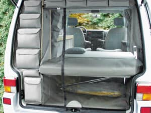 Brandrup Flyout for VW T4 California Coach tailgate opening! Our online shop offers a large selection of vehicle accessories for VW T4 Camper and Vans