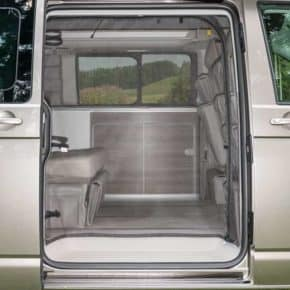 The FLYOUT for VW T6 / T5 California Ocean, Coast, Comfortline, Beach from 2011: Sliding door opening