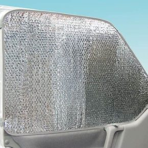 ISOLITE Inside: Insulation for the cab windows of the VW T4 models