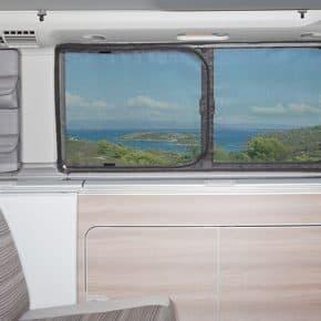 Moskitonetz für VW T6/T5 California: Schiebefenster