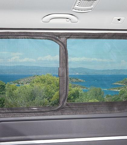 FLYOUT Moskitonetz für VW T6/T5 Multivan: Schiebefenster in Schiebetür links