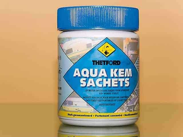 Aqua Kem Sachets: geruchsbindendes Toilettenmittel für Campingtoilette