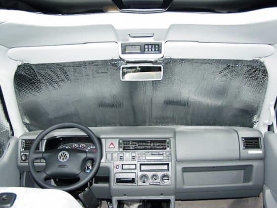 ISOLITE Inside: Isolierung für die Fahrerhausfenster der VW T4 Modelle