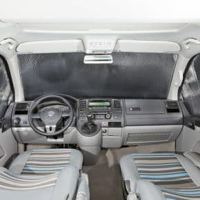 ISOLITE Inside: Isolierung für VW T5 Fahrerhausfenster bis 2009 und alle ab 2010 mit PKW-Verkleidung