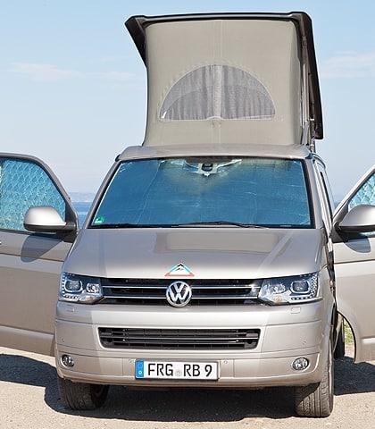 ISOLITE Inside: Verdunkelung für Fahrerhausfenster VW T5 bis 2009 mit Kombi-Verkleidung