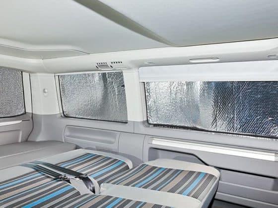 ISOLITE Inside: Verdunklung für Seitenfenster C-D-Säule links, VW T5 mit Kombi-Verkleidung, kurzer Radstand