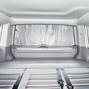 ISOLITE Inside: Verdunklung Heckklappenfenster VW T5 mit Kombi-Verkleidung