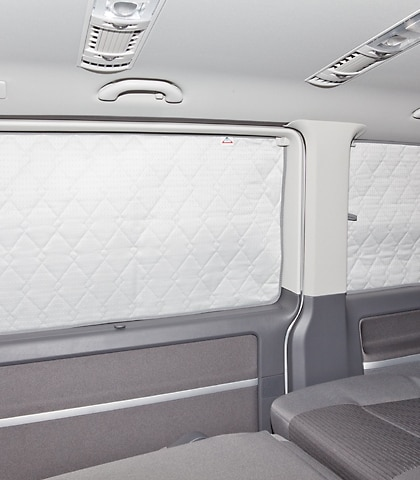 ISOLITE Extreme Seitenfenster (starr) in Schiebetür rechts VW T6 und VW T5 ab 2010 (mit Vollverkleidung)