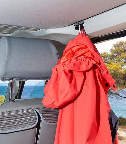 Set: Kleiderhaken VW T6/T5 California und andere