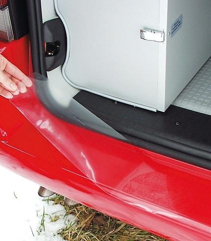 Schutzfolie VW T4 Heckklappe, transparent für lackierte Stoßfänger, Art.Nr.:100704201