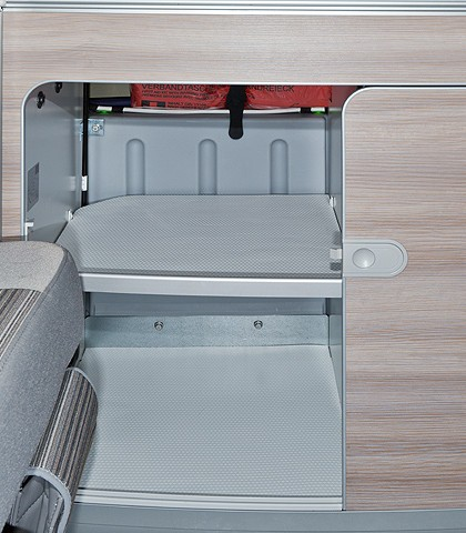 Antirutsch-/Schutzmatten VW T6/T5 California Ocean, Coast, Comfortline