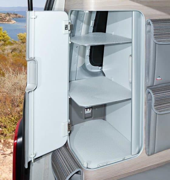 Anti-slip / protective mats VW T6 / T5 California Ocean, Coast, Comfortline