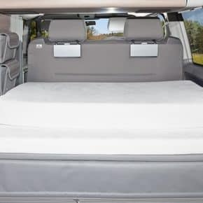 "iXTEND fitted sheet for iXTEND folding bed in VW T6 / T5 California, design ""Nicki plush"", Product No.:100707600"