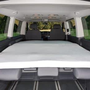 """iXTEND Faltbett Spannbettlaken VW T6/T5 Multivan und California Beach, Design """"Nicki-Plüsch"""", Art.Nr.: 100707602"""