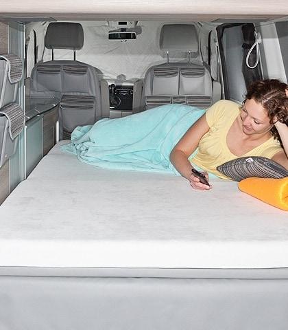 """iXTEND Spannbettlaken für iXTEND Faltbett VW T6/T5 California, Design """"Single-Jersey"""", Art.Nr.: 100707603"""