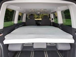 iXTEND Spannbettlaken für iXTEND Faltbett VW T6/T5 Multivan und California Beach, Design