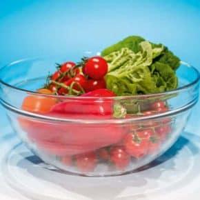 "Salatschüssel aus dem Set ""Gourmet"" Ø 22,5 cm, stapelbar, Art.Nr.: 100800203"
