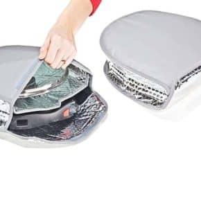 Pan-Safe Schutzhülle: gepolsterte Schutztasche für das Pfannenset mit integriertem Fach für den Glasdeckel, Art.Nr.:100801000