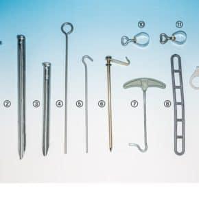 5 x Leiterabspanner, 24 cm, zum Verlängern, Art.Nr.: Z00400009