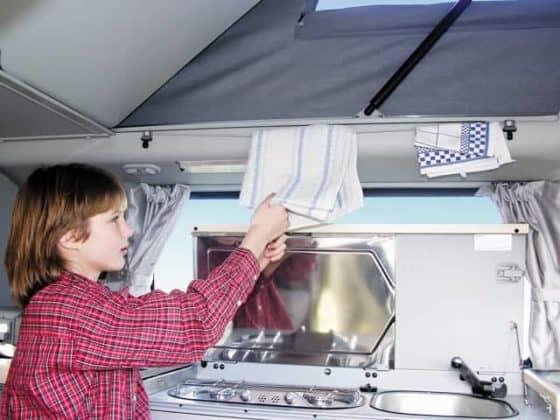 WIEST&BRANDRUP100704102-Kleiderhaken + Handtuchhalter für VW T4 California