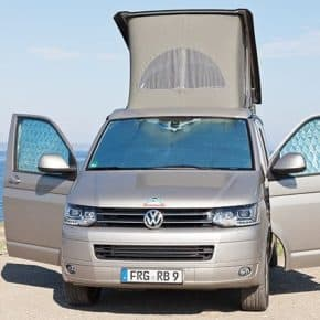 ISOLITE Inside: Insulation for VW T5 cab window until 2009 and all from 2010 with car fairing