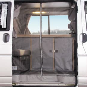 FLYOUT insect protection for VW T4 California Coach sliding door! Our online shop offers a large selection of brandrup vehicle accessories
