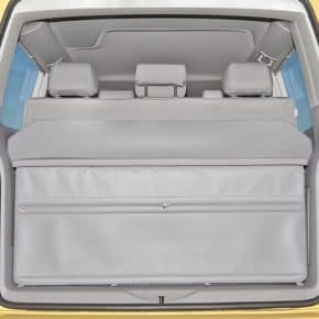 FLEXBAG rear end VW T6 / T5 California Beach with 3 seater bench and multiflexboard