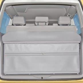 FLEXBAG Heck-Abschluss VW T6/T5 California Beach mit 3er-Bank und Multiflexboard