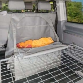 FLEXBAG for VW T6 / T5 California: bench backpack made of special tarpaulin for 2-seater bench