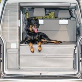 FLEXBAG Heckabschluss für den VW T6/T5 California Ocean, Coast, Comfortline