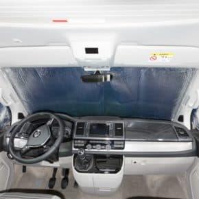 ISOLITE Inside für Fahrerhausfenster VW T6 mit Sensoren im Innen-Rückspiegel