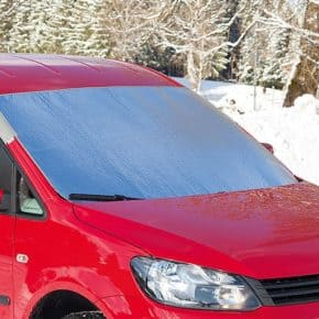 ISOLITE Outdoor VW Caddy 4/3, sun / frost protection for the windscreen