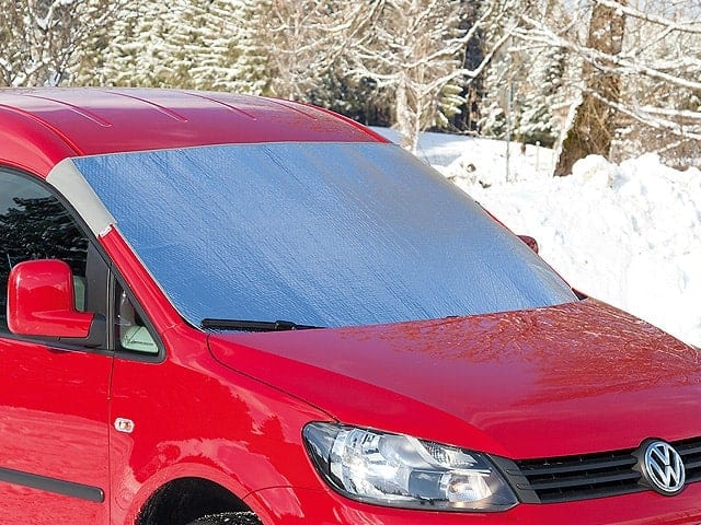 ISOLITE Outdoor VW Caddy 4/3, Sonnen-/Frostschutz für die Windschutzscheibe