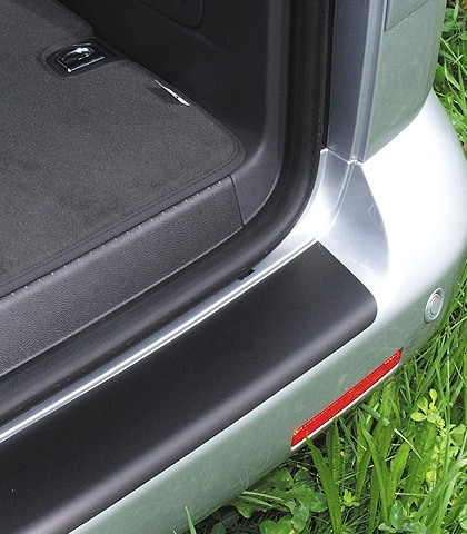 Schutzfolie Stoßfänger VW T6/T5, schwarz, für lackierte Stoßfänger, Art.Nr.:100704504