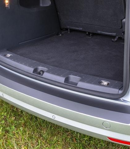 Schutzfolie VW Caddy 4/3, für lackierte Stoßfänger, schwarz, Art.Nr.100704604