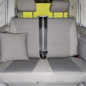 Brandrup Second Skin für die Bank (2er) des VW T6 California Beach im Design Pilion / Moonrock! Große Auswahl an Fahrzeugzubehör im Shop
