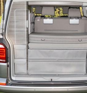 UTILITY Taschen für den Kleiderschrank Heck VW T6/T5 California, Design: