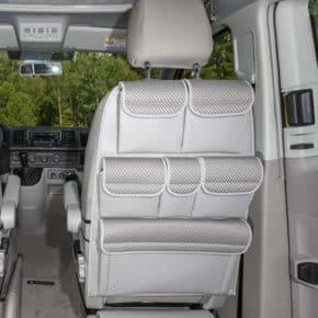 """Utility Aufbewahrungslösung für Rückenlehne Fahrer-/Beifahrersitz, VW T6/T5 California Beach, Design """"Pilion"""", Art.Nr.:100706777"""