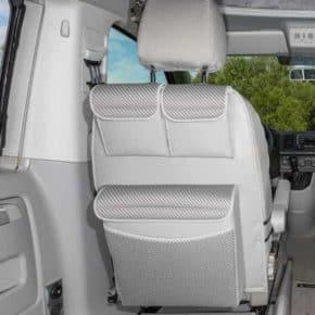 """Utility für Fahrer-/Beifahrersitze mit MULTIBOX Maxi, VW T6/T5 California Beach, Design """"Pilion"""", Art.Nr.: 100706778"""