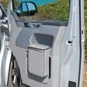 """MULTIBOX für VW T5 Fahrerhaustür im Design """"Leder Moonrock"""""""
