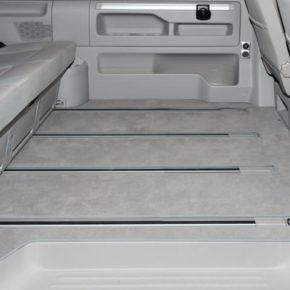 """Veloursteppich für Fahrgastraum VW T6/T5 Multivan mit 1 Schiebetür rechts, Beach ab 2011 und Startline ab 2010, """"Moonrock"""", Art.Nr.: 100708588"""
