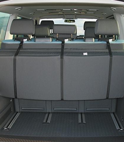 iXTEND Gurthalterungen für Faltbetten VW T6/T5 Multivan/California Beach, Art.Nr.:100709017