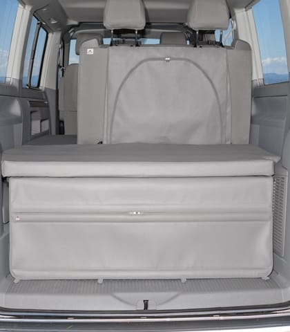 der flexbag heckabschluss vw t6 t5 california beach mit 2er bank design moonrock wiest. Black Bedroom Furniture Sets. Home Design Ideas