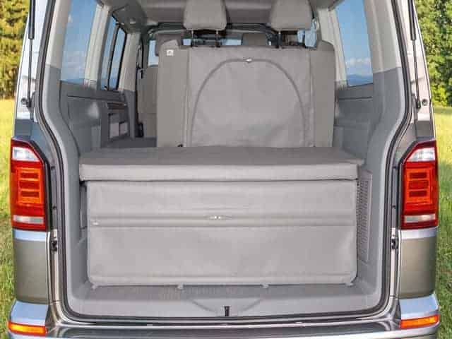 flexbag heckabschluss vw t6 t5 california beach mit 2er bank. Black Bedroom Furniture Sets. Home Design Ideas