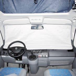 ISOLITE Extreme für die Fahrerhausfenster VW T5 bis 2009, ISOLITE Extreme für Fahrerhaus VW T5 alle ab 2010 und bis 2009 mit PKW-Verkleidung