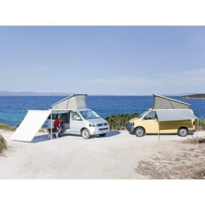 roller awning front wall for the serial roller awning for  VW T6/T5 California