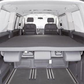 "iXTEND VW T6 / T5 Multivan and California Beach, Design: ""Titanium Black"""
