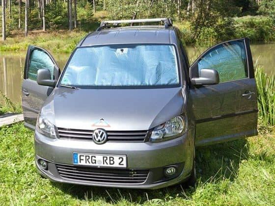 ISOLITE Inside Fahrerhausfenster VW Caddy 4 KR/LR, 5-teilig, ISOLITE Inside Fahrerhausfenster VW Caddy 3