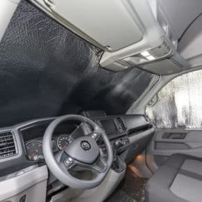 ISOLITE Inside also for windows in the cab of the VW Crafter